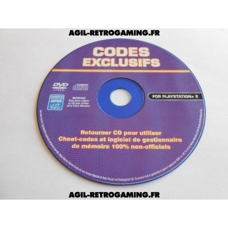 CD Codes Exclusifs GTA Vice City PS2