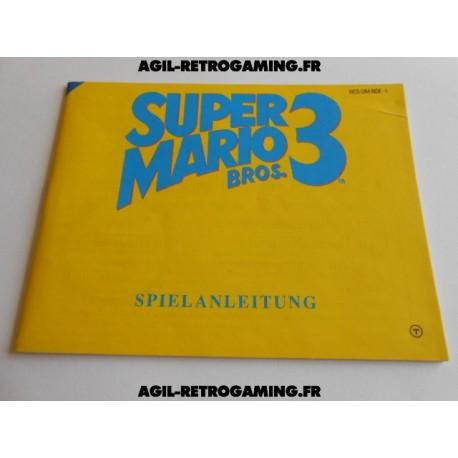 Super Mario Bros 3 NES - Mode d'emploi