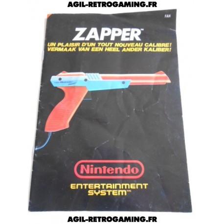 Zapper NES – Mode d'emploi