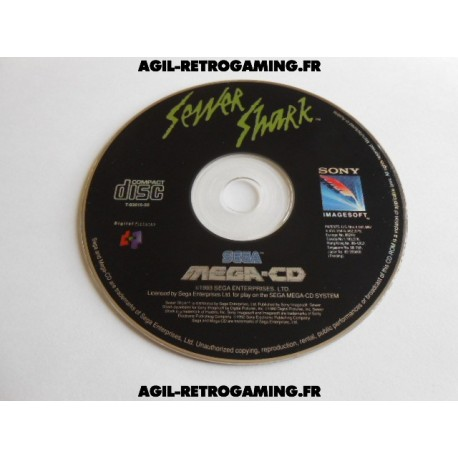 Sewer Shark Mega CD
