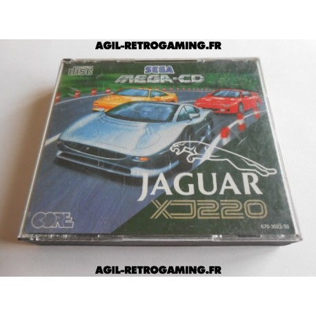 Jaguar XJ220 Mega CD
