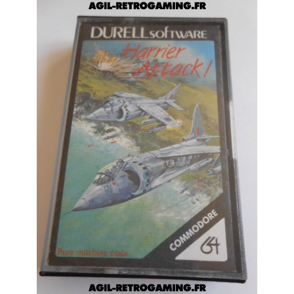 Harrier Attack C64