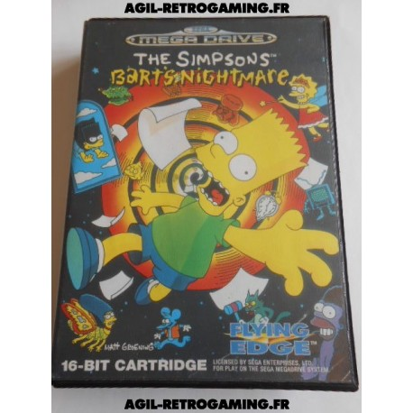 The Simpsons Bart's Nightmare MD