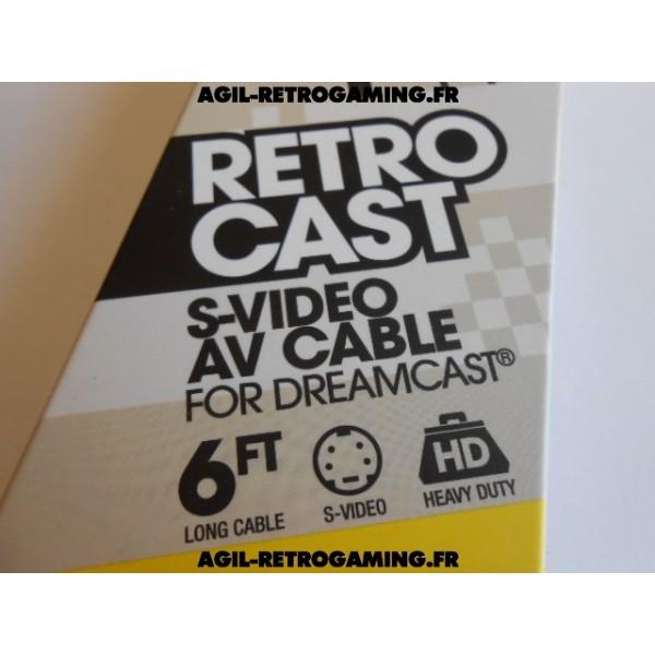 Câble A/V S-Video pour Dreamcast