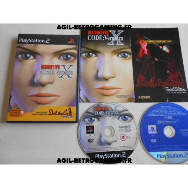 Resident Evil - Code Veronica X PS2