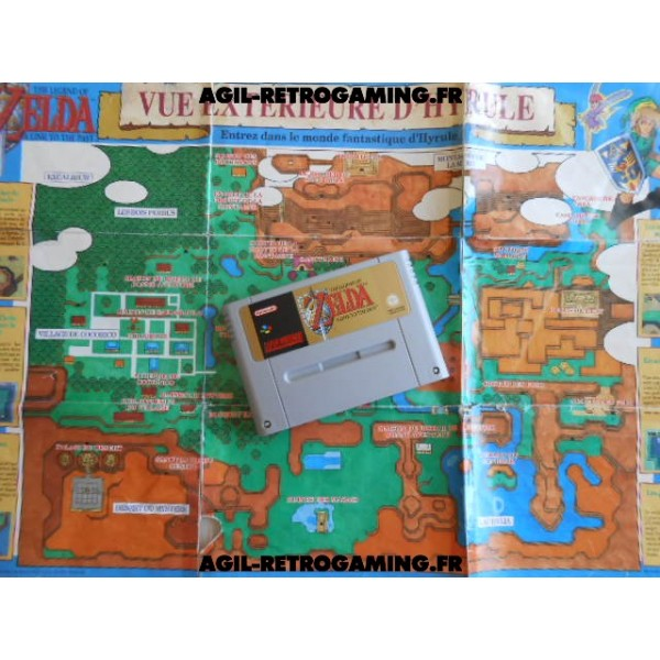 The Legend of Zelda A Link to the Past SNES