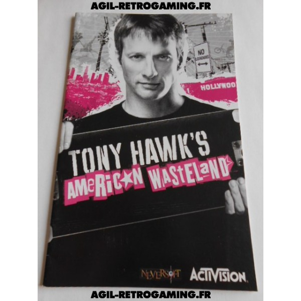 Tony Hawk's American Wasteland PS2 - Mode d'emploi