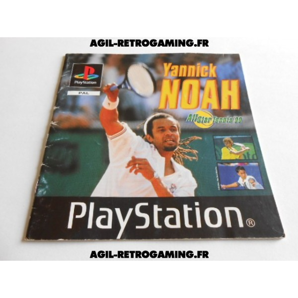 All Star Tennis 99 PS1 - Mode d'emploi