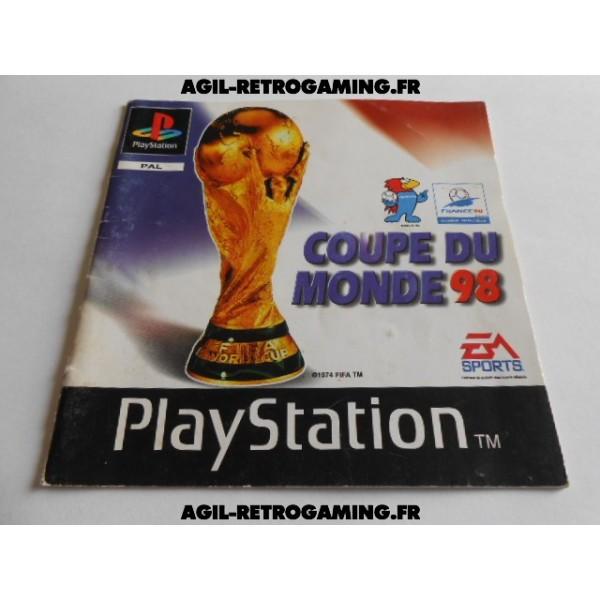 Coupe du Monde 98 PS1 - Mode d'emploi