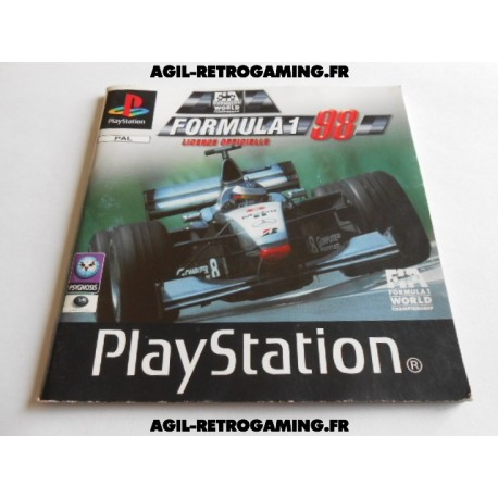 Formula One 98 - Mode d'emploi