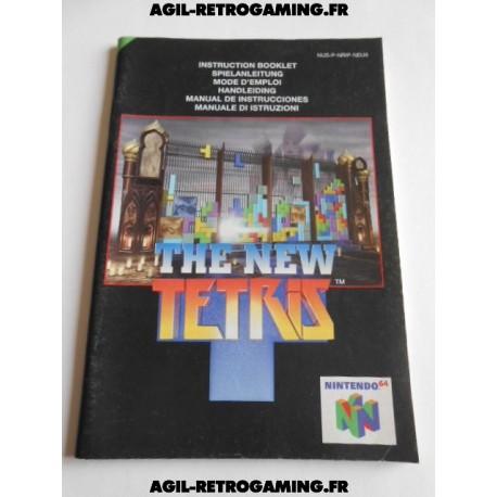 The New Tetris - Mode d'emploi N64