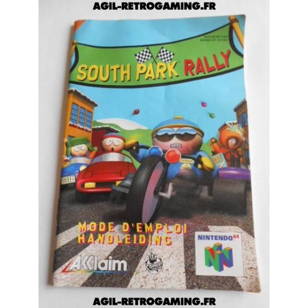 South Park Rally - Mode d'emploi N64