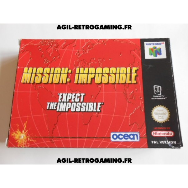 Mission Impossible sur N64