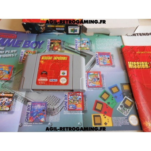 Mission Impossible sur N64