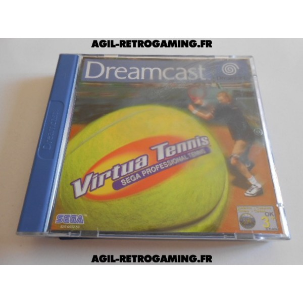 Virtua Tennis sur Dreamcast