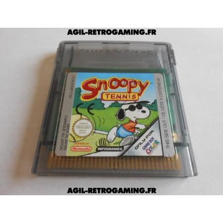 Snoopy Tennis GBC