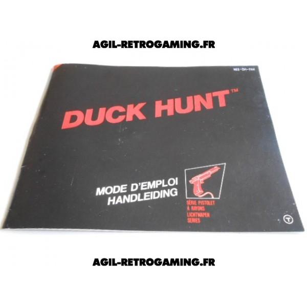 Duck Hunt sur NES - Mode d'emploi
