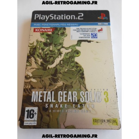 Metal Gear Solid 3 : Snake Eater sur PS2
