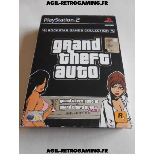 Grand Theft Auto Collection PS2