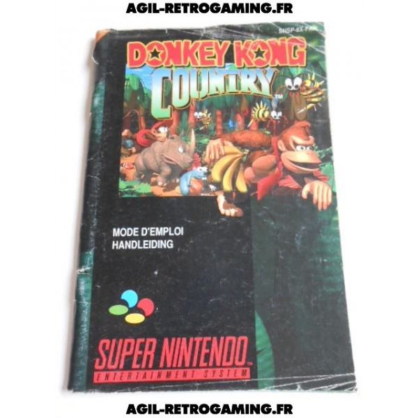 Donkey Kong Country SNES - Notice