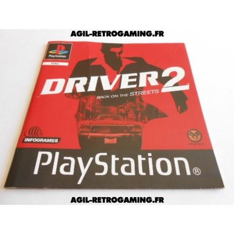 Driver 2 PS1 - Mode d'emploi