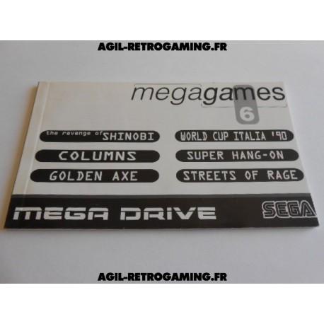 Mega-Games 6 MD - Notice