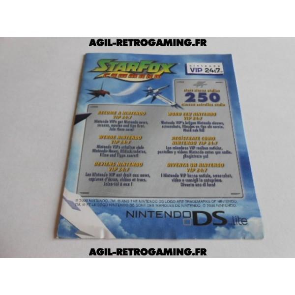 Carte VIP Starfox Command DS