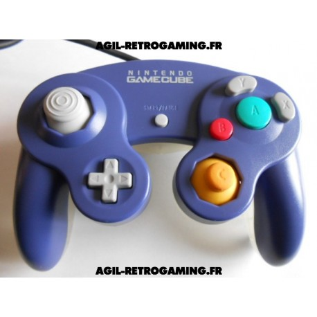 Manette Officielle Bi-color pour GameCube