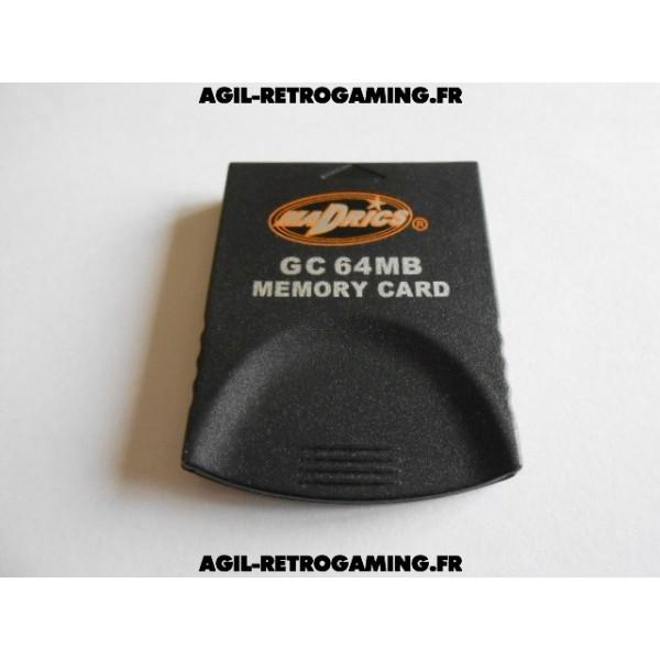 Carte mémoire 64Mo pour GameCube (1019 Blocs)