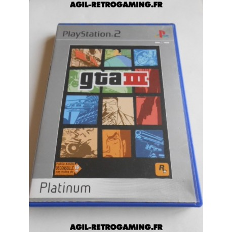 Grand Theft Auto III (GTA3) sur PS2