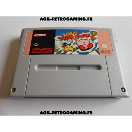 Kirby's Dream Course SNES