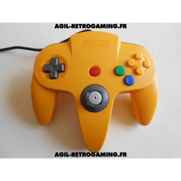 Manette Officielle Jaune pour Nintendo 64