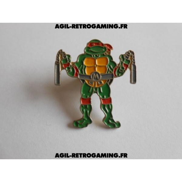 Pin's Tortues Ninja Michelangelo
