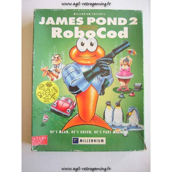 James Pond 2 Codename: Robocod pour Atari ST