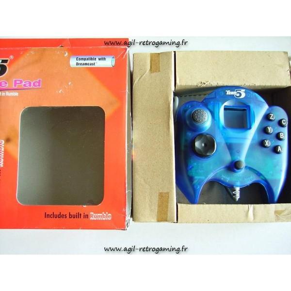 Manette Force Pad pour Dreamcast (avec vibreur intégré)