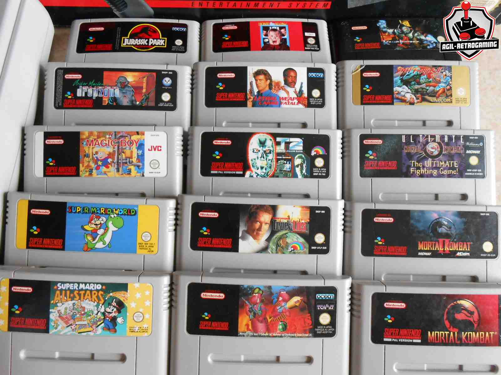 arrivage de jeux et consoles super nes blog agil retrogaming. Black Bedroom Furniture Sets. Home Design Ideas