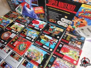 Arrivage SNES : Jeux et consoles Super Nintendo