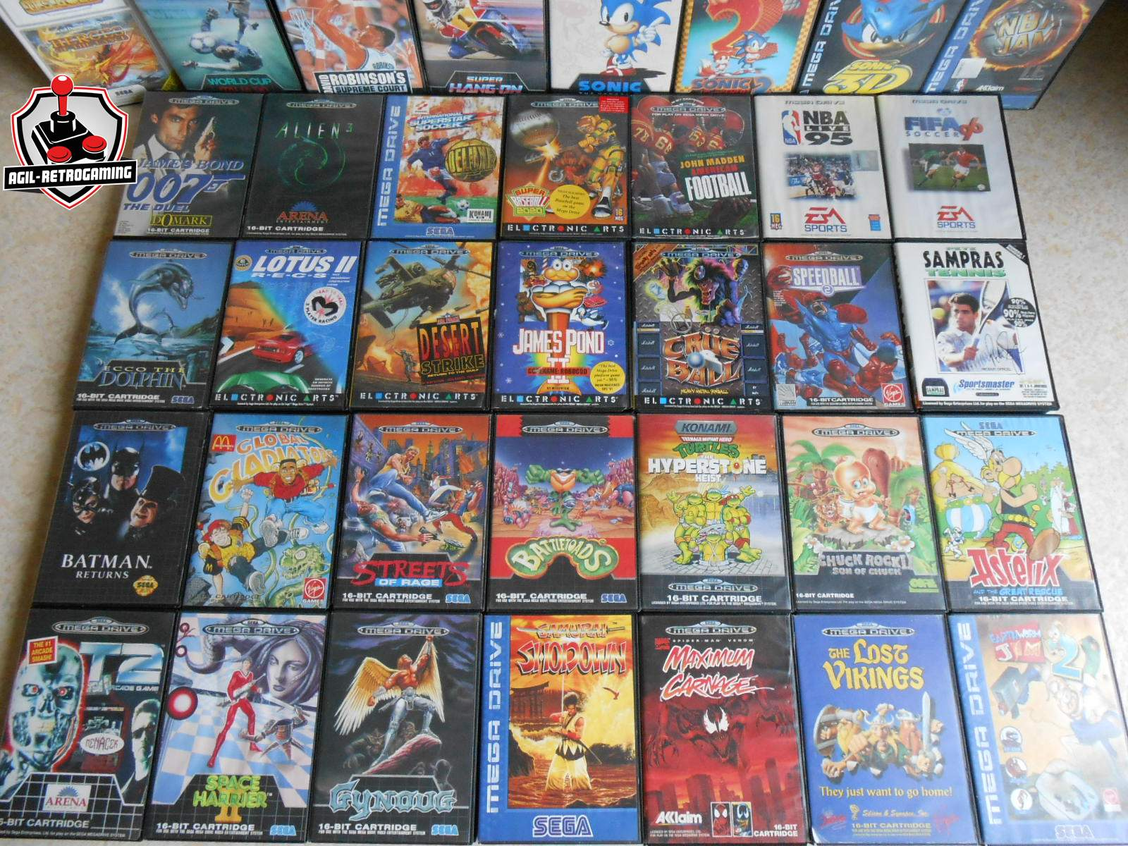 Nouveaut 233 S Sega Megadrive Blog Agil Retrogaming