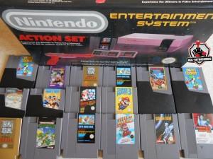NES Pack Action Set - Zelda - Mario - TMNT