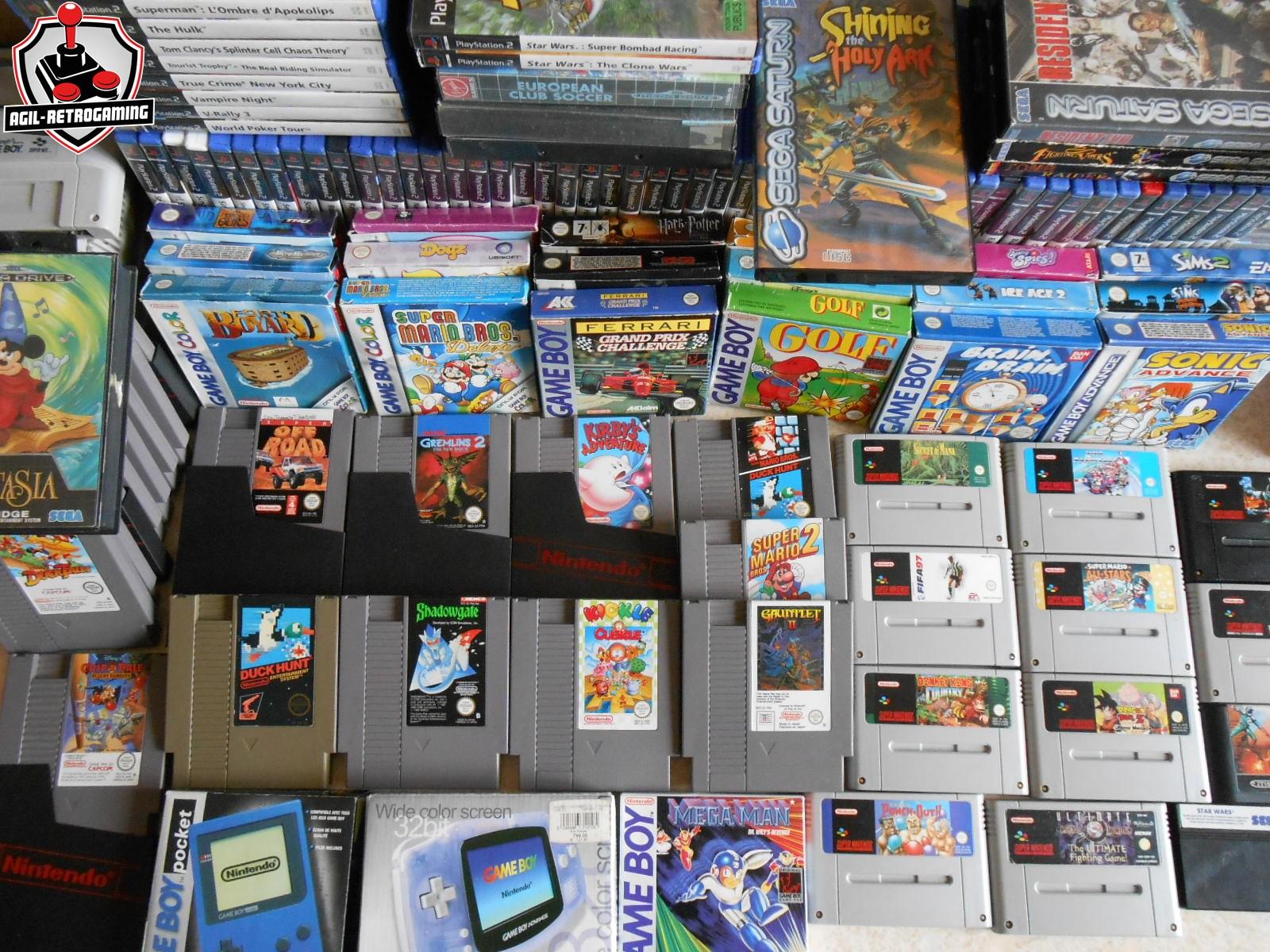 Nouveautés NES - Super Nintendo - Game Boy