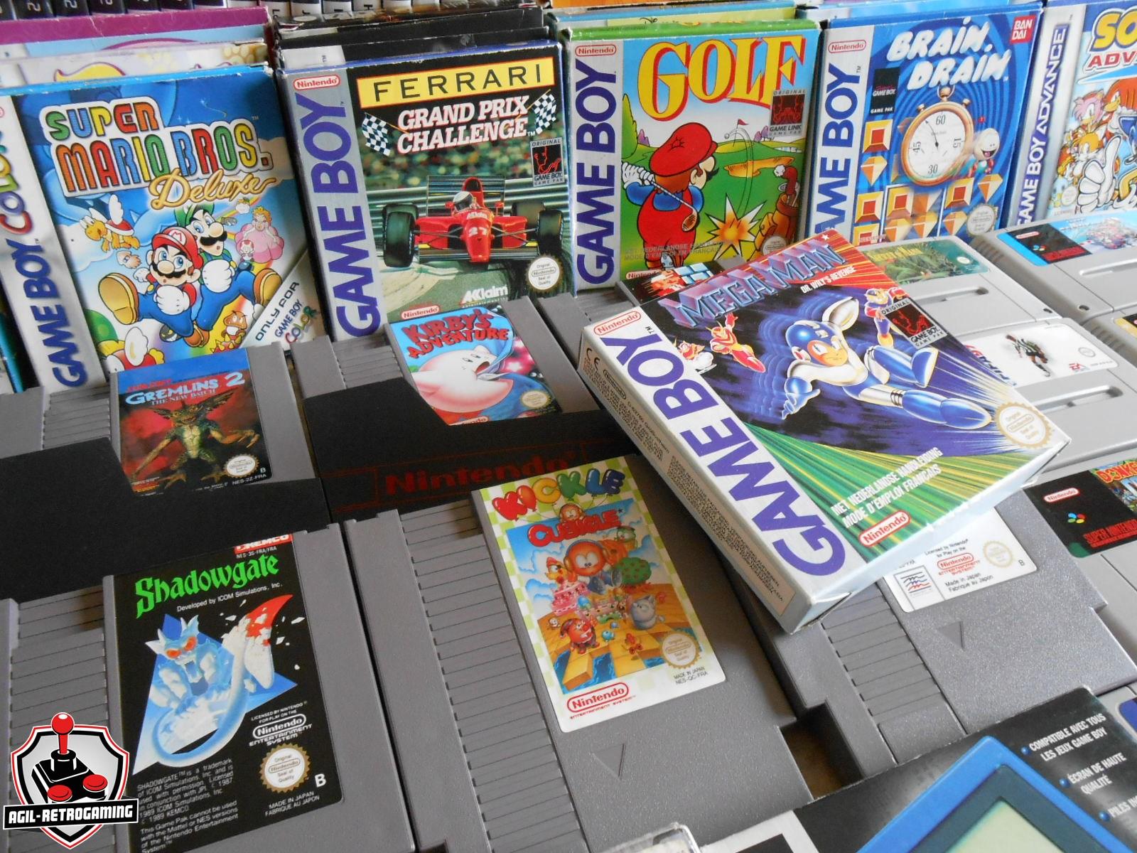 Arrivage Game Boy en boite