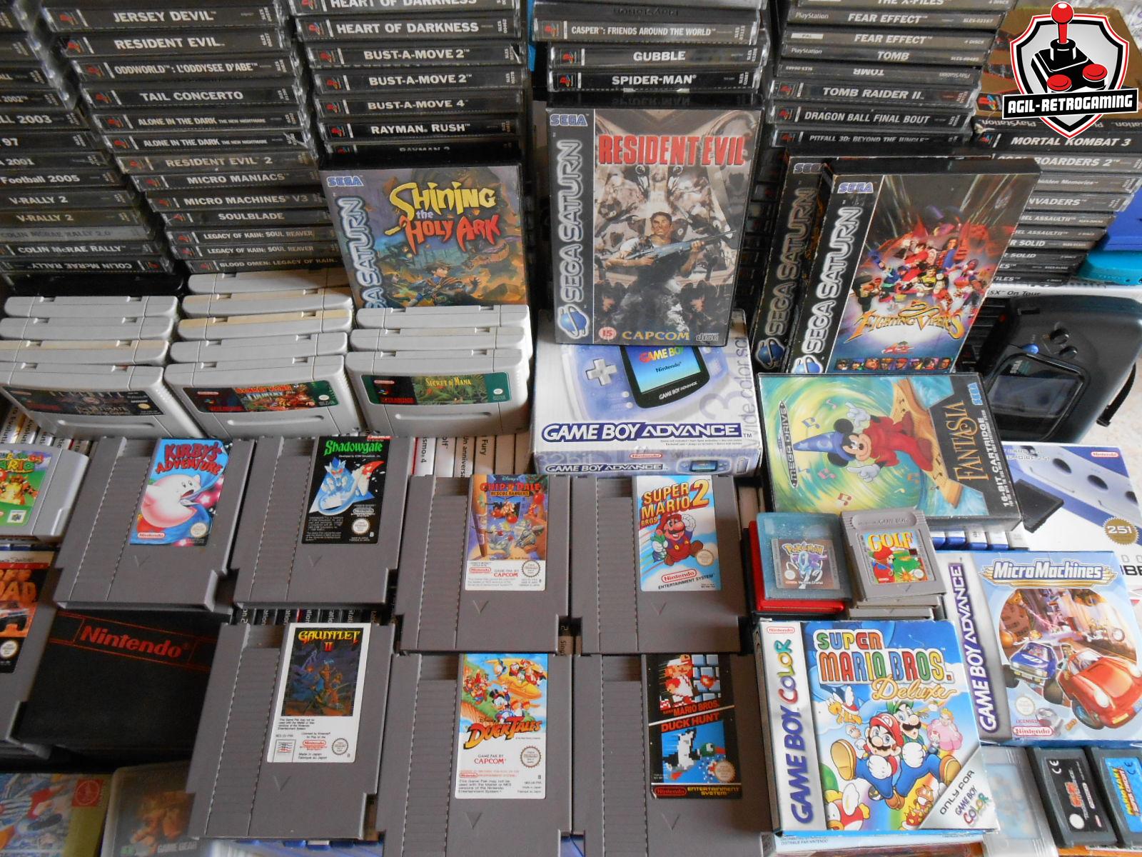 Arrivage NES, Super Nintendo, PS1, Sega