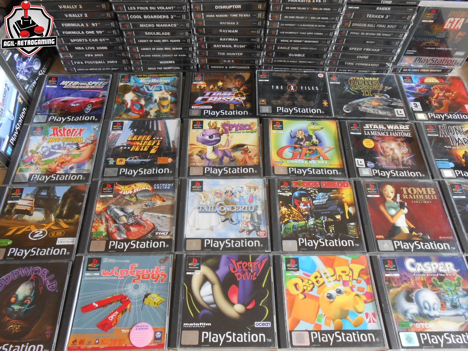 Nouveautés Playstation - PS1