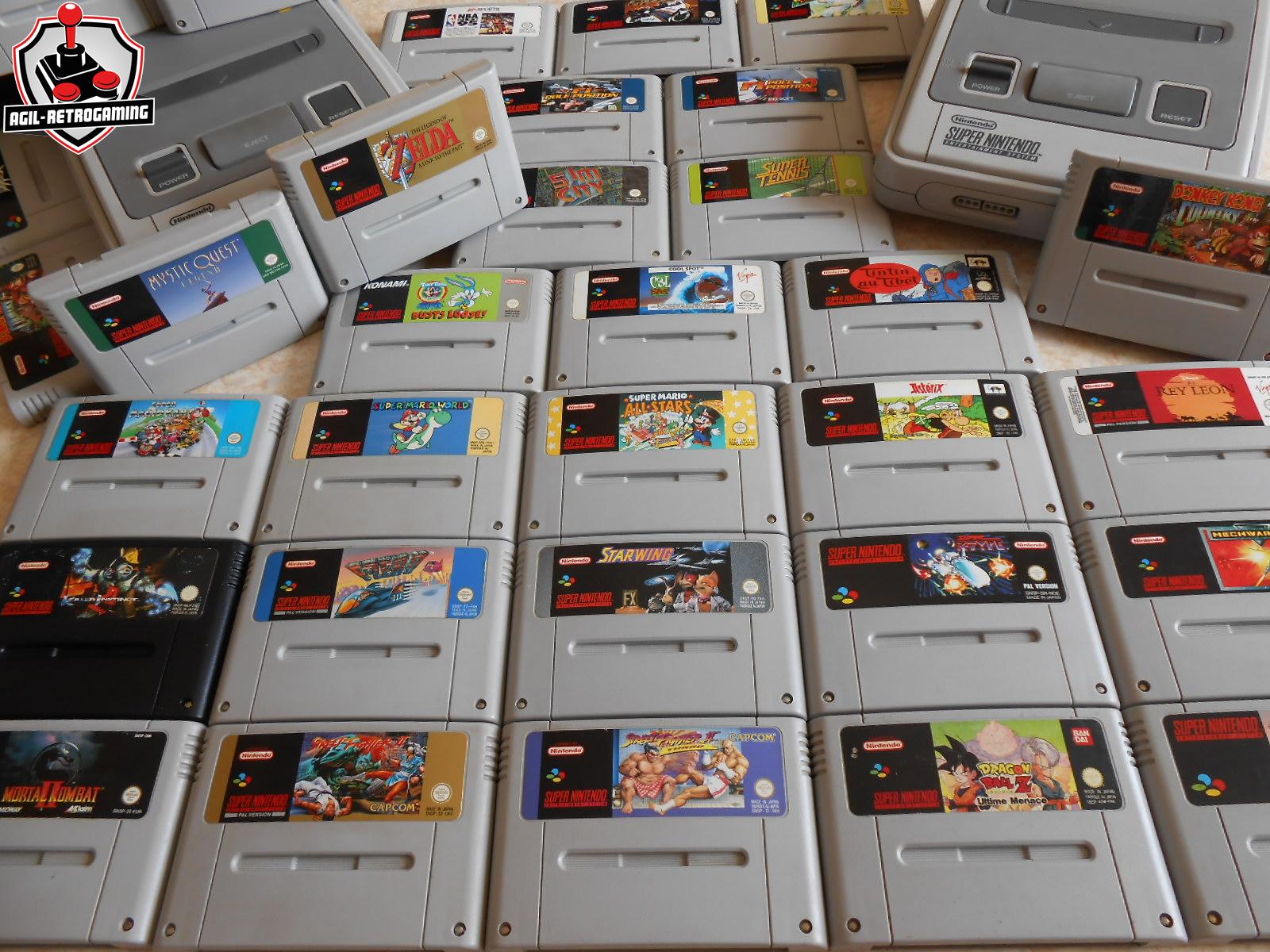 Nouveautés Super Nintendo