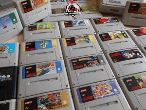 Arrivage de jeux Super Nintendo