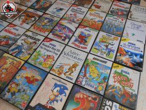 Jeux vidéo rétro Sega Megadrive et Master-System