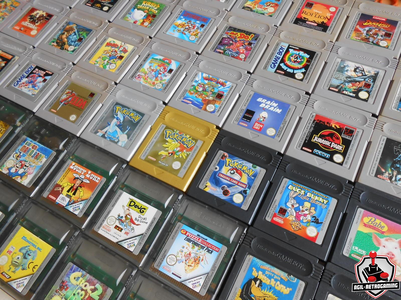 Nouveautés Game Boy et GBC
