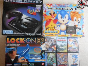 Pack Megadrive Altered Beast, Sonic Compilation MD2 et Sega Lock-On