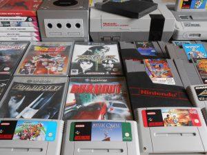 Jeux et consoles NES, SNES, N64, GameCube