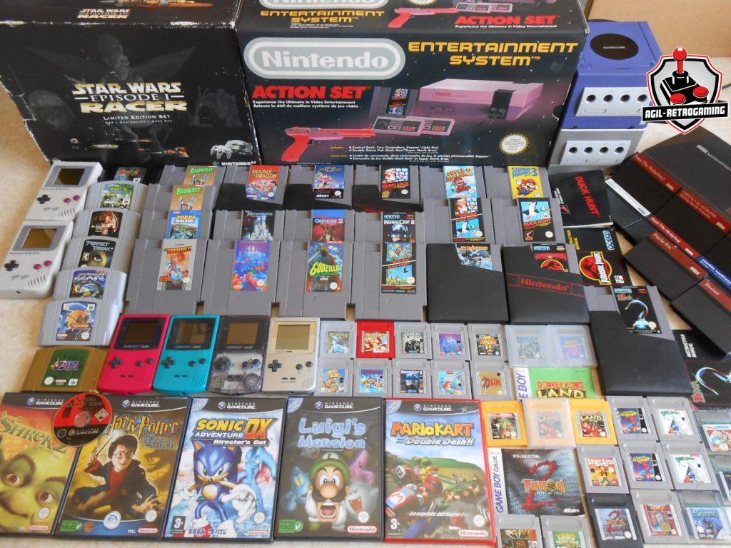 Nouveautés NES, N64, GameCube et Game Boy
